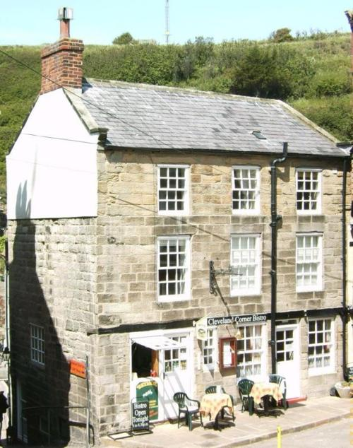 Cottages in Staithes