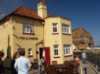 Holiday cottage in Staithes. Pubs. Eating and drinking