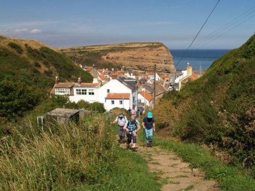 Cottage in Staithes, North Yorkshire Coast