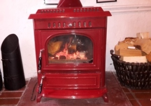 Cottage in Staithes Log Burner