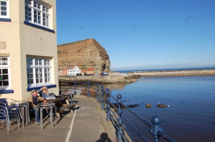Cottages in Staithes. Fisherman's cottage
